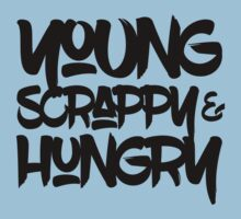 Young, Scrappy & Hungry One Piece - Short Sleeve