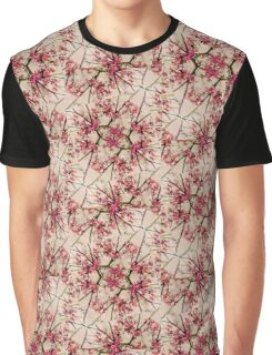 Geometric Nature Pattern Graphic T-Shirt