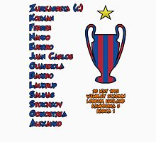 Barcelona 1992 European Cup Final Winners Unisex T-Shirt