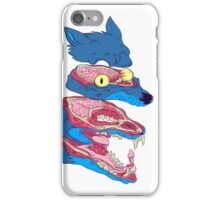 Dissected Wolf iPhone Case/Skin