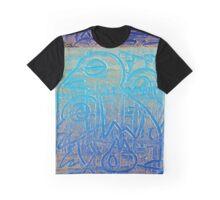 Birds of Blue Graphic T-Shirt