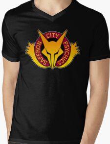 Saffron City Psychics Mens V-Neck T-Shirt