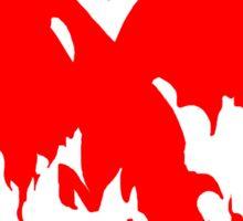 Team Valor Red Sticker
