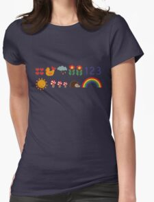 Hip Hip Hooray Womens Fitted T-Shirt