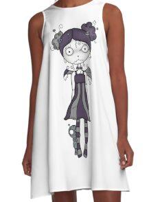 Voodoo Girl #1 A-Line Dress