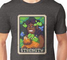 Strength Tarot - Derowen Unisex T-Shirt