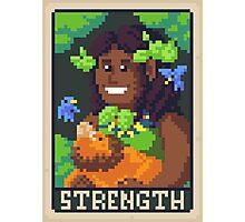 Strength Tarot - Derowen Photographic Print