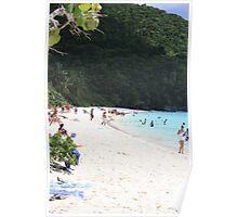 St. John Beach Poster