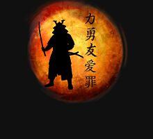 Samurai w/ Kanji  Unisex T-Shirt