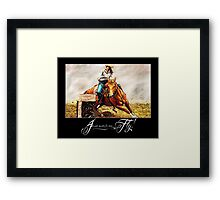 Watch Me Fly Framed Print
