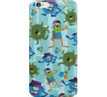 Monsters Love Chickens iPhone Case/Skin