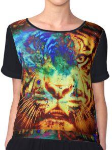 Tiger_8507 Chiffon Top
