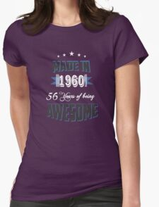Made in 1960 Womens Fitted T-Shirt