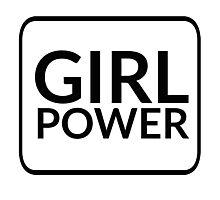 Girl Power Photographic Print