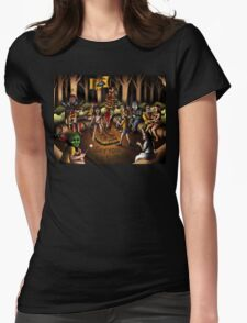 The Skin Crawling Creeps Womens Fitted T-Shirt
