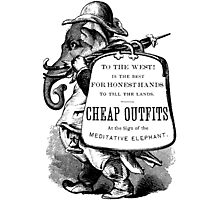 Cheap Outfits Photographic Print