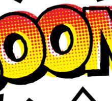 BOOM! Comic Onomatopoeia Sticker