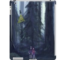The Forest of Gravity Falls iPad Case/Skin