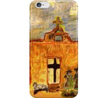 Picture Day at the Mission iPhone Case/Skin