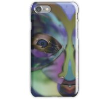 Perception, Upside Down Art Face Art by L. R. Emerson II iPhone Case/Skin