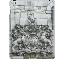 Royal Coat of Arms on the Tower of London Entrance iPad Case/Skin