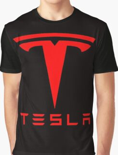 tesla retro vintage classic Graphic T-Shirt
