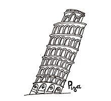 Pisa Photographic Print
