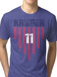 Ali Krieger #11   USWNT Olympic Roster Tri-blend T-Shirt
