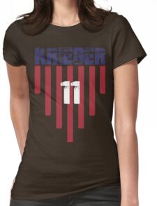 Ali Krieger #11 | USWNT Olympic Roster Womens Fitted T-Shirt