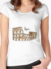 Rome Women's Fitted Scoop T-Shirt