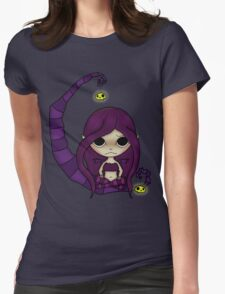 Moon Fairy Womens Fitted T-Shirt