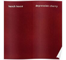 Beach House - Depression Cherry Poster