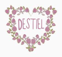 Destiel Heart by BethTheKilljoy