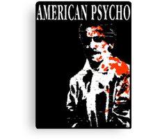 American Psycho Patrick Bateman Canvas Print