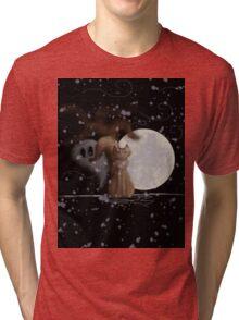 Halloween Night Tri-blend T-Shirt