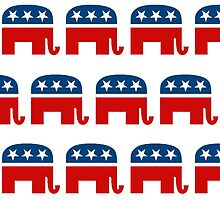 REPUBLICAN PATTERN by RightWingCloth