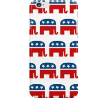 REPUBLICAN PATTERN iPhone Case/Skin