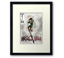 Comic Book Cover Framed Print