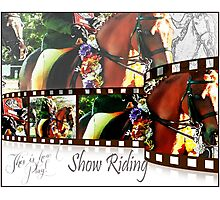 Show Riding Photographic Print