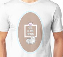 Cats, Coffee, Cuddles Unisex T-Shirt