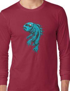 Lagoon Blue Long Sleeve T-Shirt