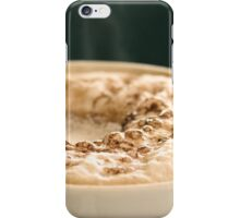 Flat White iPhone Case/Skin