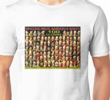 ''CLOWNS CONFERENCE'' Vintage Circus Poster Print Unisex T-Shirt