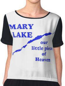 Mary Lake Our Little Piece of Heaven Chiffon Top