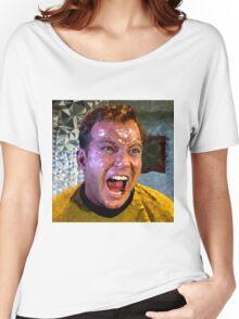 Captain Kirk Polyart Women's Relaxed Fit T-Shirt