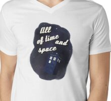 All of Time and Space Mens V-Neck T-Shirt