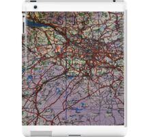 1943 Glasgow Wartime Map iPad Case/Skin