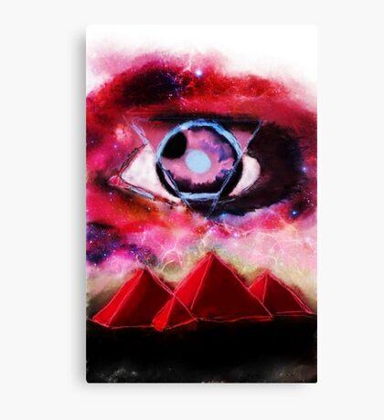 Pollock's left eyeball Canvas Print