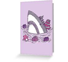 Birthday Princess Shark Greeting Card