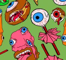 Creepy Desserts Sticker